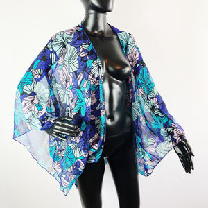 [SWIM] Cover Up Floral Print One Size Fits Most
